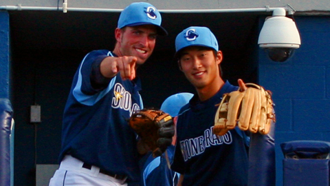 Tyler Bortnick and Hak-Ju Lee were named All-Stars again on Monday.
