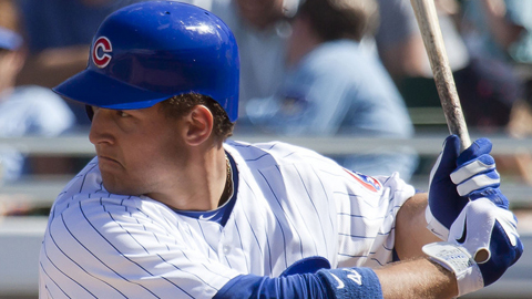 Anthony Rizzo has produced nine RBIs in his first five games with Iowa.