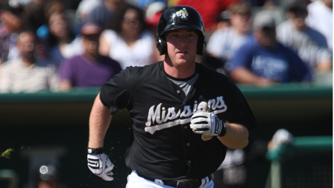Jedd Gyorko is hitting .419 in his last eight games for San Antonio.