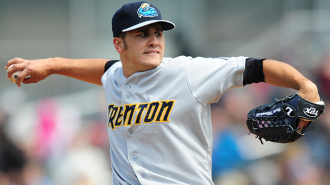 Brett Marshall is 4-1 with a 3.27 ERA in seven Double-A starts.