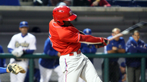 Travis Witherspoon is hitting .284 with five home runs for Inland Empire.